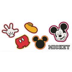 TecidoTricoline Painel Naninhas Mickey - Preço de 60 cm x 148 cm