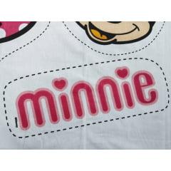 TecidoTricoline Painel Naninhas Minnie - Preço de 60 cm x 148 cm